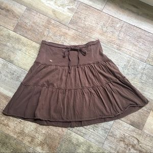 Abercrombie and Fitch Brown Knit Skirt